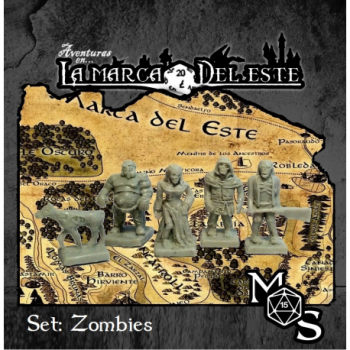 SET MINIATURAS ZOMBIES -...