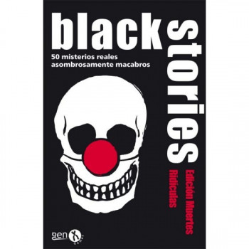 BLACK STORIES: MUERTES RIDICULAS - JCNC