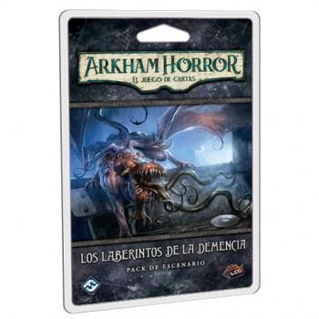 LOS LABERINTOS DE LA DEMENCIA: EXPANSION ARKHAM HORROR - JUEGO DE CARTAS