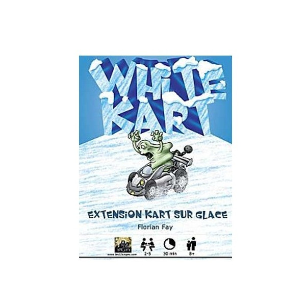 KART ON ICE - WHITE KART