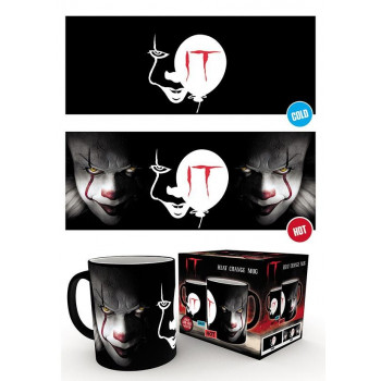 TAZA SENSITIVA AL CALOR PENNYWISE. STEPHEN KING'S IT
