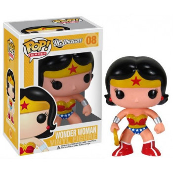 FUNKO POP! 08 WONDER WOMAN. DC UNIVERSE