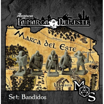 SET MINIATURAS BANDIDOS -...