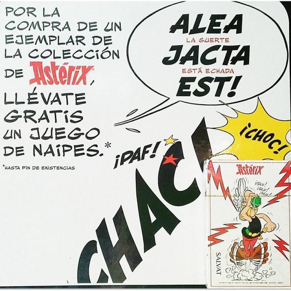 JUEGO DE NAIPES. ASTERIX (PROMO)