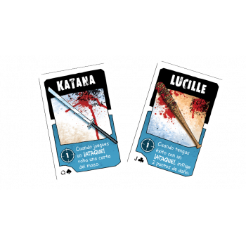 CARTAS LUCILLE Y KATANA - BANG! THE WALKING DEAD (PROMO)