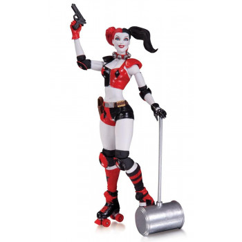 FIGURA HARLEY QUINN 17cm THE NEW 52. DC COMICS
