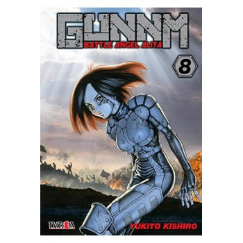 GUNNM (BATTLE ANGEL ALITA) 08