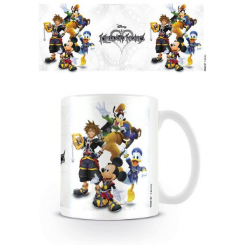 TAZA GRUPO. KINGDOM HEARTS