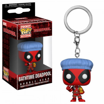 FUNKO POP! LLAVERO BATHTIME DEADPOOL. DEADPOOL