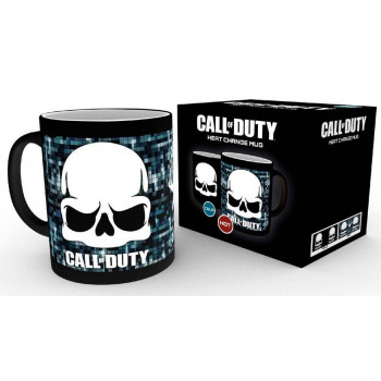 TAZA SENSITIVA AL CALOR CRANEO. CALL OF DUTY