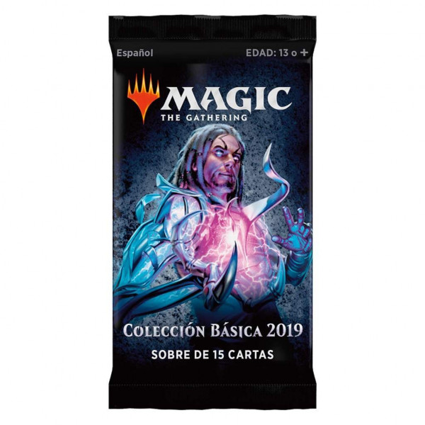 MAGIC - SOBRE 15 CARTAS COLECION BASICA 2019