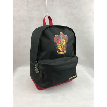 MOCHILA GRYFFINDOR BLACK BURGUNDY. HARRY POTTER