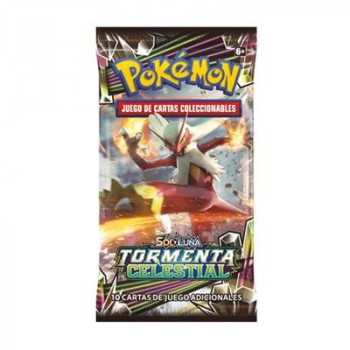 SOBRE 10 CARTAS POKEMON SOL...