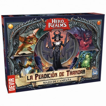 HERO REALMS - LA PERDICION...
