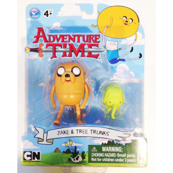 FIGURAS JAKE & TREE TRUNKS (TROMPI). HORA DE AVENTURAS