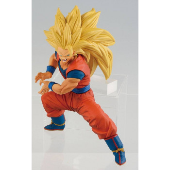 FIGURA SON GOKU FES SUPER SAIYAN 3. 14cm. DRAGON BALL Z