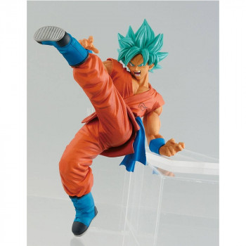FIGURA SON GOKU FES SUPER SAIYAN GOD 19 cm. DRAGON BALL SUPER