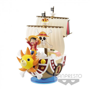 FIGURA BARCO THOUSAND SUNNY MEGA WCF 19 cm. ONE PIECE