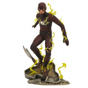 ESTATUA THE FLASH DIAMOND SELECT TOYS DC GALLERY 23 cm. THE FLASH TV SERIES