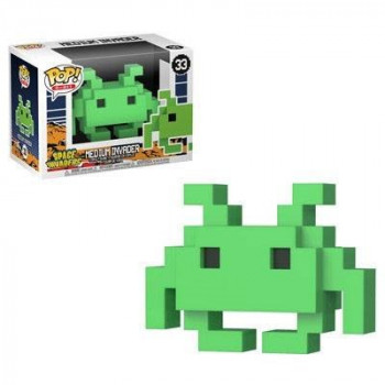 FUNKO POP! 33 MEDIUM INVADER. SPACE INVADERS
