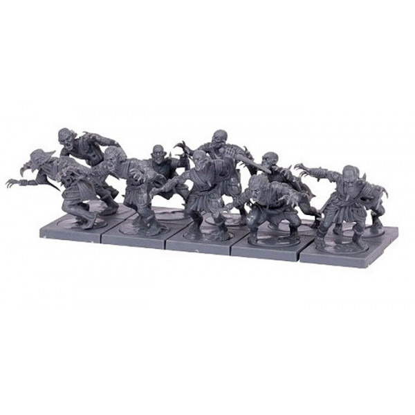 10 MINIATURAS UNDEAD GHOUL TROOP - KINGS OF WAR