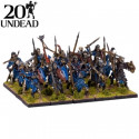 20 MINIATURAS UNDEAD SKELETON REGIMENT - KINGS OF WAR