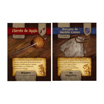 CARTAS FLORETE DE AGUJA Y HARAPOS DE SENTIDO COMUN - MICE AND MYSTICS (DE RATONES Y MAGIA) (PROMO)