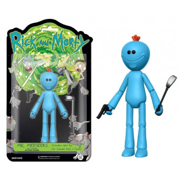 FIGURA MR. MEESEEKS 13cm. RICK Y MORTY