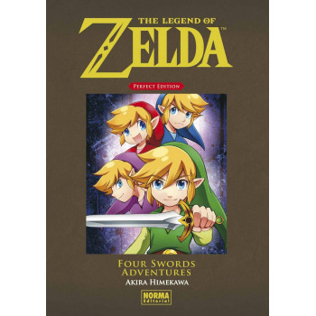 THE LEGEND OF ZELDA PERFECT EDITION - FOUR SWORDS ADVENTURE