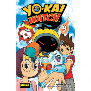 YO KAI WATCH 09