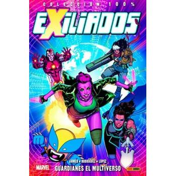EXILIADOS 01. GUARDIANES DEL MULTIVERSO
