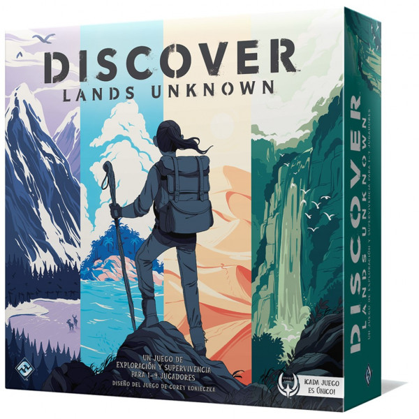 DISCOVER LANDS UNKNOW