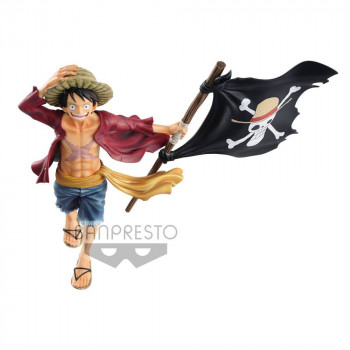FIGURA MONKEY D. LUFFY MAGAZINE 22 cm. ONE PIECE