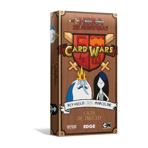 CARD WARS REY HIELO CONTRA MARCELINE - CAJA DE INICIO. HORA DE AVENTURAS