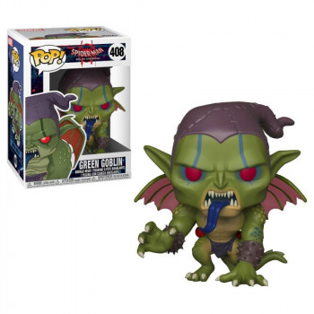 FUNKO POP! 408 GREEN GOBLIN. INTO THE SPIDERVERSE