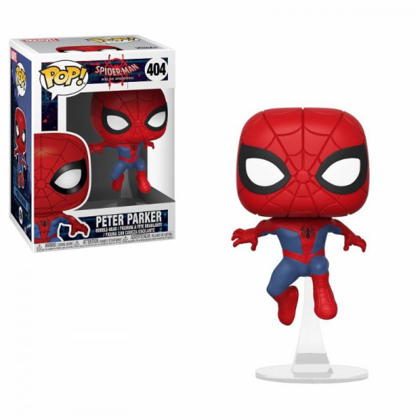 FUNKO POP! 404 PETER PARKER. INTO THE SPIDERVERSE