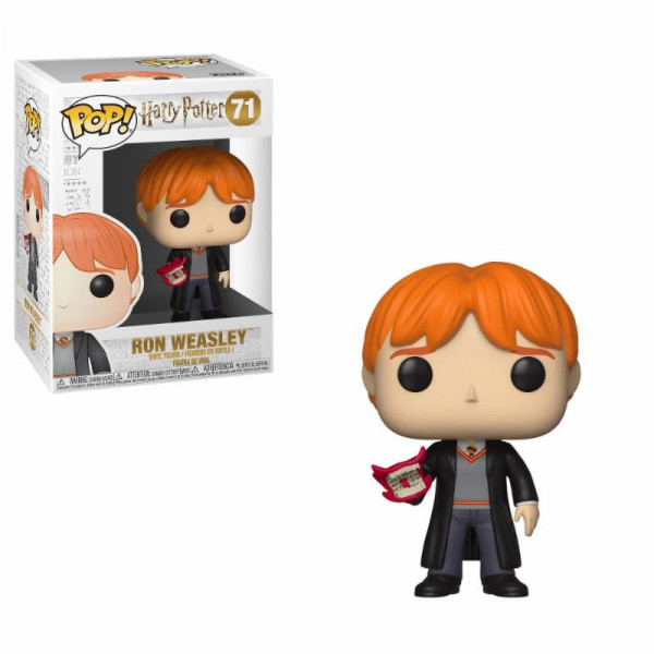 FUNKO POP! 71 RON WEASLEY (WITH HOWLER). HARRY POTTER