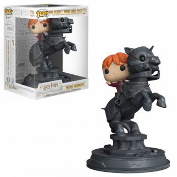FUNKO POP! MOVIE MOMENTS 82 RON WEASLEY RIDDING CHESS PIECE. HARRY POTTER