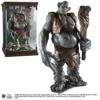 ESTATUA MAGICAL CREATURES TROLL. HARRY POTTER