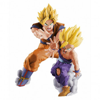 FIGURA GOKU & GOHAN VS EXISTENCE 16 cm. DRAGON BALL Z