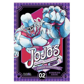 JOJO'S BIZARRE ADVENTURE PARTE 4: DIAMOND IS UNBREAKABLE 02