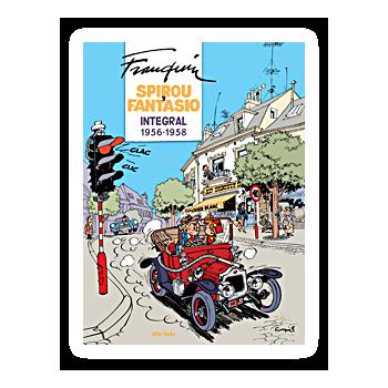 SPIROU Y FANTASIO INTEGRAL 05 FRANQUIN 1956-1958