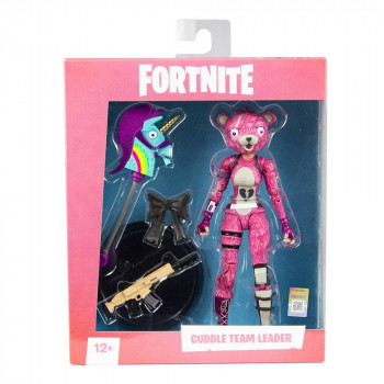 FIGURA CUDDLE TEAM LEADER 18cm. FORTNITE