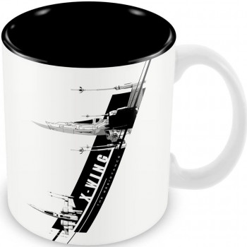 TAZA X-WING THE RESISTANCE...