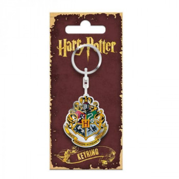 LLAVERO HOGWARTS METAL 5cm. HARRY POTTER