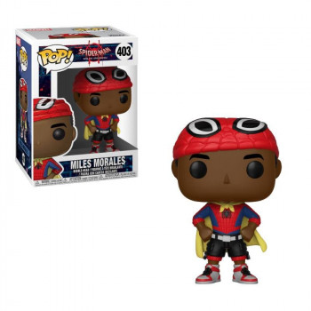 FUNKO POP! 403 MILES MORALES. SPIDERMAN INTO THE SPIDERVERSE