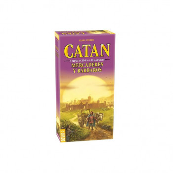 CATAN MERCADERES Y BARBAROS 5-6