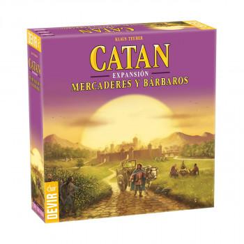 CATAN MERCADERES Y BARBAROS
