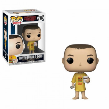FUNKO POP! 718 ELEVEN (BURGUER T-SHIRT). STRANGER THINGS