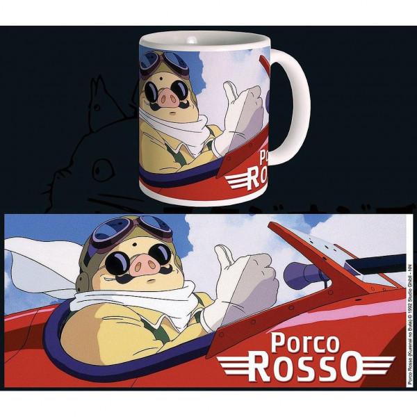 TAZA PORCO ROSSO. STUDIO GHIBLI